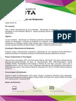 Conteúdo Programático - Hardware - Manutenção Em Notebooks