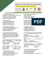LISTA EXTRA DE EXERCÍCIOS 15 - USO CORRETO DAS PALAVRAS