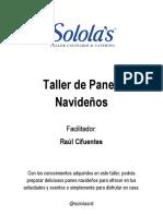 Recetario Taller de Panes Navidenos - Raul Cifuentes-1