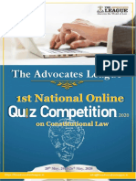 TAL NATIONAL ONLINE QUIZ COMPETITION, 2020