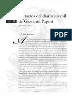 Diario juvenil - Giovanni Papini (UAM)