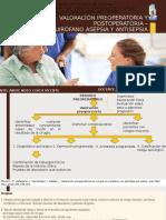Valoración preoperatoria y postoperatoria – (1)