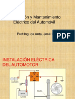 mantenimiento eléctrico del automóvil.