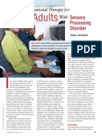 Article - OT for Adults w SPD