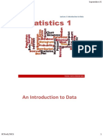 1. Introduction to Data