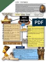 Mapa mental - Arte Egípcia
