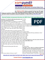 expected-seating-arrangement-questions-for-ibps-clerk-mains