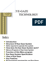 Eye Gaze Technology