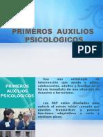 Psicologia basica- Primeros auxilios psicologicos