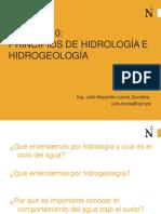 Principios de Hidrologia e Hidrogeologia Convertido