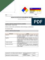 Acido sulfúrico MSDS