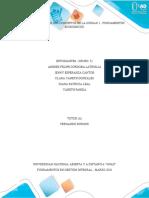 Tarea 2 - Apropiar los conceptos de la Unidad 1. Fundamentos Económicos.