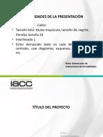 Formato Presentación Proyecto de Investigación