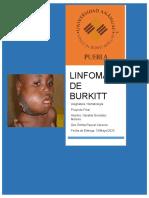 LINFOMA DE BURKITT Trabajo Final OGM