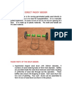Direct Paddy Seeder Leaflet 1