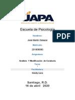 Tarea 1- Analisis y Modificacion de Conducta.docx