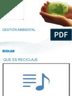 RESIDUOS SOLIDOS - RECICLAJE