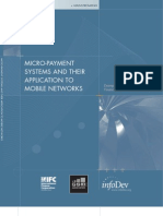 Infodev Micro-payment Systems and Their Application to Mobile web