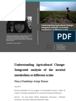 1. Arizpe Ramos, Understanding Agricultural Change. Integrated analysis of societal metabolism at different