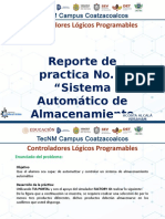 REPORTE DE SISTEMA AUTOMATICO DE ALMACENAMINETO