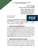 Casación-4264-2016-Lima-LA EJECUCION DE UNA SENTENCIA DE DESALOJO PRESCRIBE A LOS 10 AÑOS