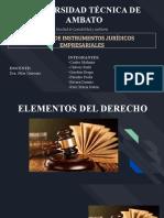 Elementos del derecho