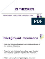 LEARNING THEORIES (1)