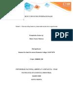 COMERCIO Y NEGOCIOS INTERNACIONALES Fase 1 Rosman De Armas