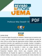 CEV UEMA-MAC DOWELL