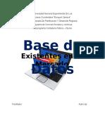 Software de aplicación trabajo