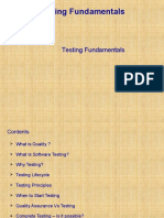 Chapter 3 - Testing Fundamentals