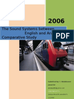 The Sound Systems between English and Arabic