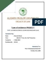 evidence project hanzala