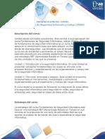 Presentación Curso Fundamentos de seguridad informática