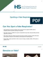 Detectando un respirador FALSO (1)