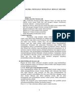 Sistematika Penyusunan Skripsi, Tesis & Disertasi