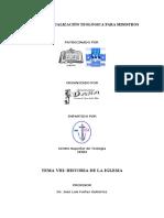Tema 8. Historia de la Iglesia