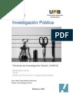 PEC 2 Nelson Nascimento - TIS - Investigación Publica