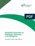 Scientific Summary of Pandemic Influenza & its Mitigation