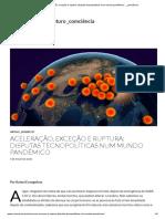 AAceleração, exceção e ruptura_ disputas tecnopolíticas num mundo pandêmico - _Rafael Evangelista