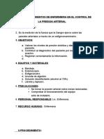GUIA DE PRESION ARTERIAL