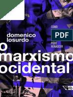 Domenico Losurdo - O Marxismo Ocidental