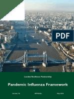 London Resilience Partnership Pandemic Influenza Framework