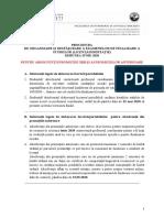 PROCEDURA FINALIZARE STUDII IUNIE 2020 -ANUNT ABSOLVENTI