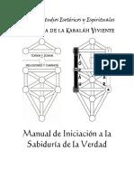 El Sistema de La Kabaláh Viviente, Manual de Iniciación