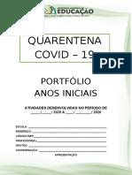PORTFÓLIO - ANOS INICIAIS