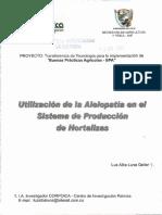 ALELOPATIA EN HORTICULTURA