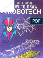 The Official How to Draw Robotech 01