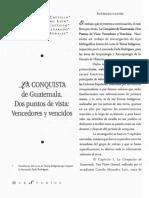 La Conquista en Guatemala