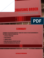 PURCHAISING ORDER
